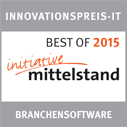 Best of 2015 Kategorie Branchensoftware