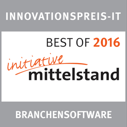 Best of 2016 Kategorie Branchensoftware